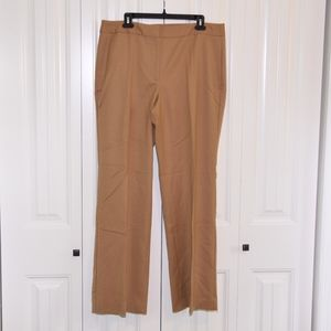 Talbots Heritage Pants in Tan size 14